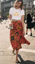 Sezane Nelly Skirt Milanese Print Size 8 Eu 36 - Sold Out!