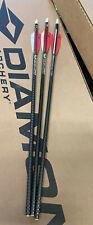 3 NEW Ten Point Crossbow EVO-X CenterPunch Bolts Arrows w/ Plastic Alpha-Nock