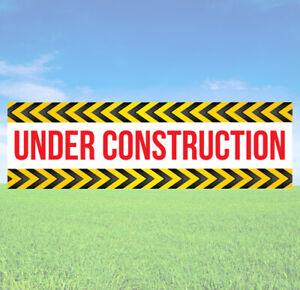 Under Construction Banner - Business Banner