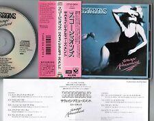 SCORPIONS Savage Amusement JAPAN CD w/Round corner 3200JPY OBI+INSERT CP32-5604