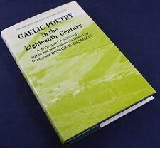 EIGHTEENTH CENTURY SCOTTISH GAELIC POETRY-BILINGUAL ANTHOLOGY-POEMS*TRANSLATION