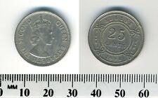 Belize 1994 - 25 Cents Copper-Nickel Coin - Queen Elizabeth II