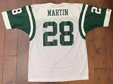 75eada3c234 Vintage Champion New York Jets Jersey NY Curtis Martin #28 Size Mens 40 NFL  M6
