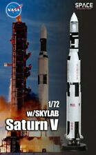 Dragon #50392 1/72 Saturn V w/Sky Lab (Space)(1.5m)- completed Model