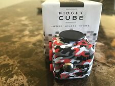 Fidget Cube Anxiety Stress Relief Toys Red Camo camouflage-Fast Ship-USA Seller