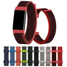 Strap Nylon Fiber Band Breathable Replacement Wristband For Fitbit Charge 3 4