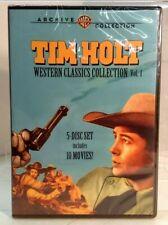 Tim Holt Western Classics Collection, Vol. 1 (DVD, 2011, 5-Disc Set)