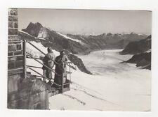 Jungfraujoch Mit Aletschgletscher Switzerland RP Postcard 700a