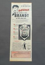 PUB PUBLICITE ANCIENNE ADVERT CLIPPING 220517 / MACHINE A LAVER BRANT A GAGNER