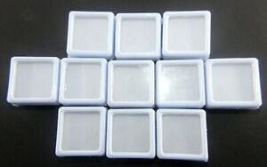 White 11 Pieces Plastic Boxes in one packet To Keep Loose Gems eBay
