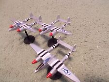 Flames of War 15mm, 1/144 Scale painted American P-38J LIGHTNING Aircraft  (3)