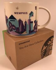 New Starbucks You Are Here Series Memphis 14oz Mug in Original Box with Sku