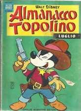 ALMANACCO TOPOLINO 1965 NUMERO 7 + BOLLINO
