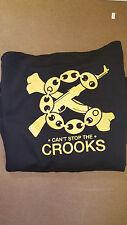 Crooks & Castles Men's Knit Jacket Zip Up Hoodie Black,Red,Grey CSTC Size M-5XL