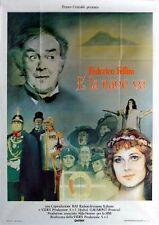 AND THE SHIP SAILS ON 1983 Federico Fellini, Freddie Jones ITALIAN POSTER