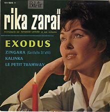 RIKA ZARAÏ EXODUS FRENCH ORIG EP RAYMOND LEFEVRE