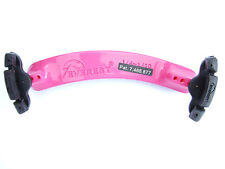 3/4 -1/2 size hot pink Everest violin shoulder rest spring collection (ES Model)