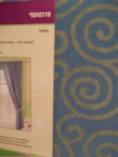 NIP STYLE SELECTIONS ONE PANEL TWIRL BLUE/GREEN SWIRLS KIDS ROOM WINDOW