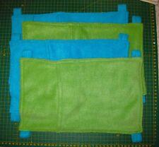 TWO Pocket Hammocks  (polarfleece & hanging clips)
