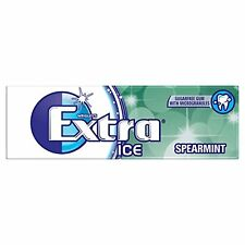 Wrigley's Extra ICE MENTA Senza Zucchero Chewing Gum 30 Confezione Da 10 Pellet