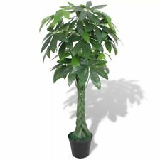 "vidaXl Artificial Fortune Tree Plant w/ Pot 57"" Green Fake Leaves Decor Indoor"