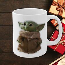 Baby Yoda The Child Mandalorian Mug Ceramic Yoda Cute Christmas Gift 11oz Mug