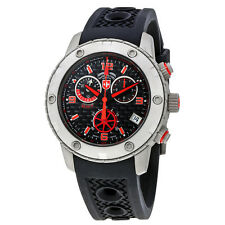 Swiss Military Rallye GMT Chronograph Black Dial Mens Watch 2746