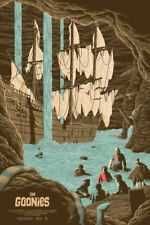 Goonies by Florey Movie Screen Print Poster Art Mondo Sold Out MINT