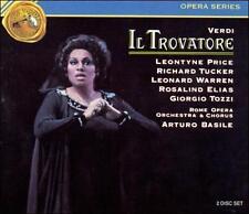 Giuseppe Verdi: Il Trovatore (CD, Oct-1990, RCA) NEW / SEALED / FREE SHIPPING