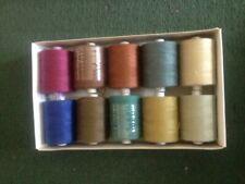 Box of 25 Polycotton Corespun 120/'s sewing thread wound on under bobbins