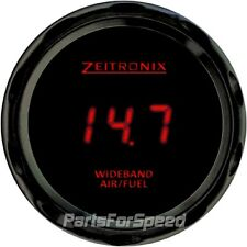 Zeitronix ZR-3 Black Gauge for Wideband Red LED