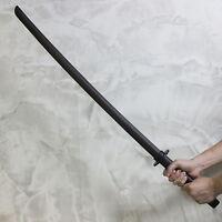 Bokken 2pcs Set Dark Red Bokuto Practice Tsuba Kendo Kumdo Hard Wood Sticks MMA