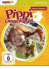 DVD * ASTRID LINDGREN : PIPPI LANGSTRUMPF - SPIELFILM TEIL 1 # NEU OVP §