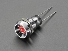 Adafruit 5mm Chromed Metal Wide Concave Bevel LED Holder - Pack of 5 [ADA2178]