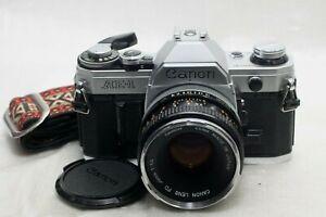Canon AE-1 film Camera w/ FD 50mm f1.8 lens *Excellent*
