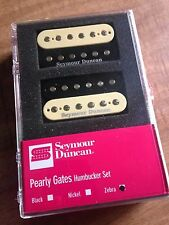 Seymour Duncan Pearly Gates Humbucker Pickup Set Zebra 11108-49-z SHPG-1n NEW