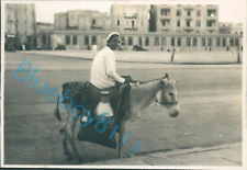 Crete Milk Delivery Donkey Social History Taken By Officer HMS Ramillies  1931