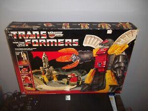 1985 G1 Original Transformers OMEGA SUPREME w/ box Vintage Complete!!!