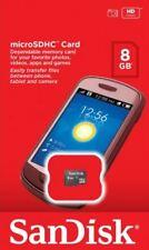 Sandisk  Micro SD 8GB SDHC Memory Card Microsd TF  Class 4 Samsung Mobile Phone