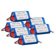 6 x Anmaspower XRD 3.7V 7800mAh 3-Cell 18650 Li-ion Battery Pack Triangle Sharp