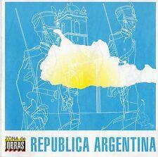 """CERATI / FITO PAEZ / CALAMARO / CHARLY GARCIA """"REPUBLICA ARGENTINA"""" SPANISH CD"""
