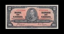 "New listing 1937 Bank Of Canada Kgvi $2 *Coyne & Towers* ""J/R"" ( Gem Unc )"