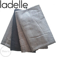 Ladelle Charcoal 4 Pack Super Absorbent Quick Drying Microfibre Tea Towels