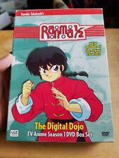 Ranma 1/2: Digital Dojo - TV Season 1 Box Set (DVD, 2007, 4-Disc Set)