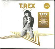T. Rex - Gold - Dreier - CD - Digisleeve - Best Of Greatest Hits CD - Neuwertig