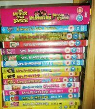 Large MRS BROWNS BOYS Series,Christmas specials all round to Mrs browns, boxsets
