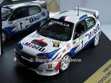 TOYOTA COROLLA WRC CZECH RALLY CAR DOLAK PALIVEC WHITE/BLUE ISSUE PKD K8967Q ~#~