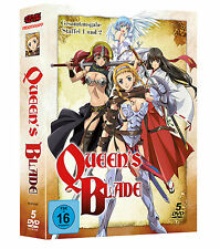 Queen's Blade Komplett-Box (Staffel 1 + 2) DVD