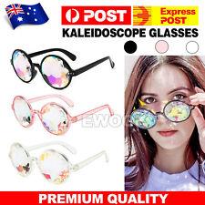 Kaleidoscope Glasses Rave Festival EDM Sunglasses Diffracted Lens Party Show OZ