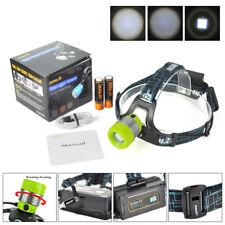 BORUiT B11 L2 LED Profi Police Mirco Stirnlampe Kopflampe 8000lm Inkl.2x 18650